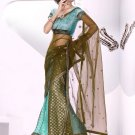 Partywear Viscose Exclusive Embroidery Lehenga Sari With Blouse - GW Dilkhush N