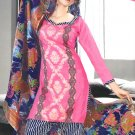 Shalwar & Salwar Kameez Dress Jacquard Satin Casual With Dupatta - X 03 N
