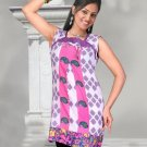 Indian Bollywood Cotton Partywear Kurti Kurta Tops - X 12a