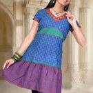 Indian Bollywood Cotton Partywear Kurti Kurta Tops - X 2b