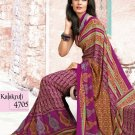 Crepe Partywear Casual Printed Saris Saree With Blouse - VF 4705B N