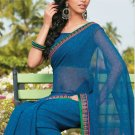 Sari Saree Casual Faux Georgette Printed With Unstitch Blouse - X 9011A N