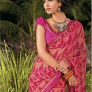 Sari Saree Casual Faux Georgette Printed With Unstitch Blouse - X 9009B N
