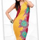 Indian Bollywood Faux Georgette Printed Sari With Unstitch Blouse - X 2184A N