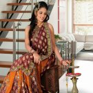 Partywear Faux Georgette Heavy Embroidered Saree With Blouse - Ls Amolika A N