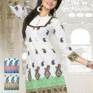 Indian Ethnic Bollywood Designer Beautiful Kurti Tops - X 8