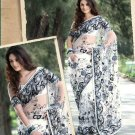 Saree Bridal Net Georgeous Embroidery With Unstitched Blouse - X 1114 N
