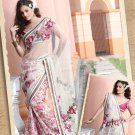 Saree Bridal Net Georgeous Embroidery With Unstitched Blouse - X 1104 N