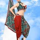 Sari Saree Casual Faux Georgette Designer Printed With Unstitch Blouse CH 9022 N