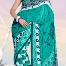 Casual Partywear Faux Georgette Printed Designer Saree - Ts 29006b N