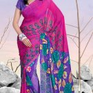 Casual Partywear Soft Georgette Printed Designer Saree - Ts 29020a N