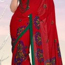Casual Partywear Soft Georgette Printed Designer Saree - Ts 29016b N