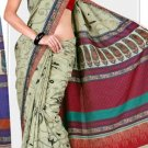 Silk Casual Partywear Designer Printed Sarees Sari With Blouse - X 4854D N
