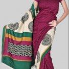 Silk Casual Partywear Designer Printed Sarees Sari With Blouse - X 4352D N
