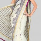 Silk Casual Partywear Designer Printed Sarees Sari With Blouse - X 4469A N