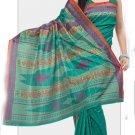 Silk Casual Partywear Designer Printed Sarees Sari With Blouse - X 4788B N