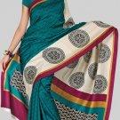 Silk Casual Partywear Designer Printed Sarees Sari With Blouse - X 4352A N