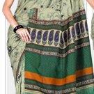 Silk Casual Partywear Designer Printed Sarees Sari With Blouse - X 4854B N