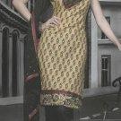 Cotton Partywear Designer Embroidered Salwar Kameez With Dupatta - X 6094b N