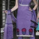Cotton Partywear Designer Embroidered Salwar Kameez With Dupatta - X 6091b N