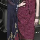 Cotton Partywear Designer Embroidered Salwar Kameez With Dupatta - X 6093a N