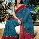 Sarees Sari Partywear Faux Georgette Designer Printed With Blouse - SM 656C N