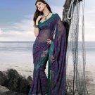 Sarees Sari Partywear Faux Georgette Designer Printed With Blouse - SM 711 N
