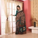 Crepe Partywear Printed Indian Bollywood Sarees Sari With Blouse - RS 5415 N