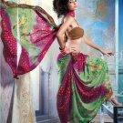 Faux Georgette Partywear Designer Printed Saree Sari With Blouse - X 2506 N
