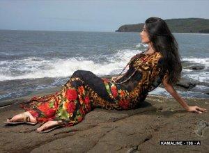 Sarees Sari Partywear Faux Georgette Designer Printed With Blouse - SM 196 N