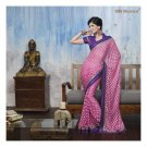 Faux Georgette Partywear Designer Embroidered Saree Sari With Blouse- LPT 2063 N