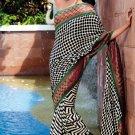 Sarees Sari Partywear Faux Georgette Designer Printed With Blouse - SM 550B N