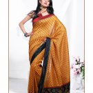 Partywear Cotton Exclusive Designer Printed Saree With Blouse - X 916 N