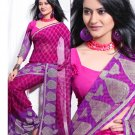 Partywear Faux Georgette Exclusive Designer Printed Saree With Blouse - X 912 N