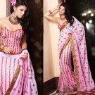 Net Georgette Bridal Wedding Designer Embroidery Lehnga Saree - X 2506 N