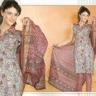 Soft Cotton Partywear Printed Shalwar & Salwar Kameez With Dupatta - X 5535 N