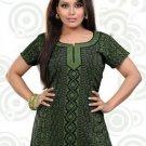 Indian Bollywood Faux Crepe Partywear Kurti Kurta Tops - X 38