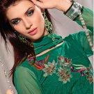 Designer Embroidered Suit Shalwar Salwar Kameez Indian Bollywood - X 1207c
