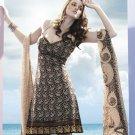 Designer Embroidered Suit Shalwar Salwar Kameez Indian Bollywood  - X 6010c