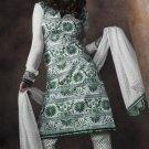 Designer Embroidered Suit Shalwar Salwar Kameez Indian Bollywood - X 9019a