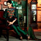 Chanderi Bridal  Designer Embroidered Salwar Kameez With Dupatta - X 2709B N