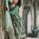 Indian / Pakistani Designer Embroidered Shalwar Salwar Kameez - X7134B