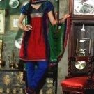 Chanderi Bridal  Designer Embroidered Salwar Kameez With Dupatta - X 2704B N
