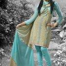 Indian Pakistani Shalwar Salwar Kameez Embroidered Fancy Party Wedding - X 8015a