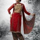 Indian Pakistani Shalwar Salwar Kameez Embroidered Fancy Party Wedding - X 8008b