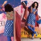 Indian Bollywood Designer Embroidered Suit Shalwar Salwar Kameez - X2840