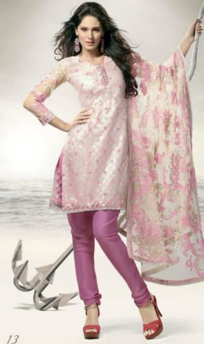 Indian Bollywood Designer Embroidered Suit Shalwar & Salwar Kameez - X 13