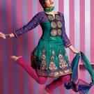 Indian Bollywood Designer Embroidered Shalwar & Salwar Kameez - X2302
