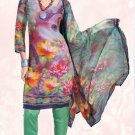 Indian Bollywood Designer Digital Print Shalwar & Salwar Kameez - X2923