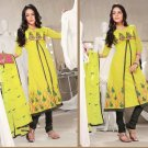 Indian Bollywood Designer Embroidered Shalwar & Salwar Kameez - X1329